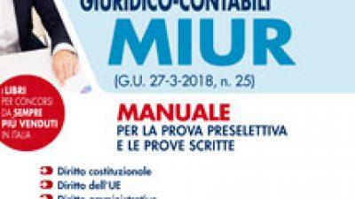 253 Funzionari amministrativo-giuridico-contabili MIUR