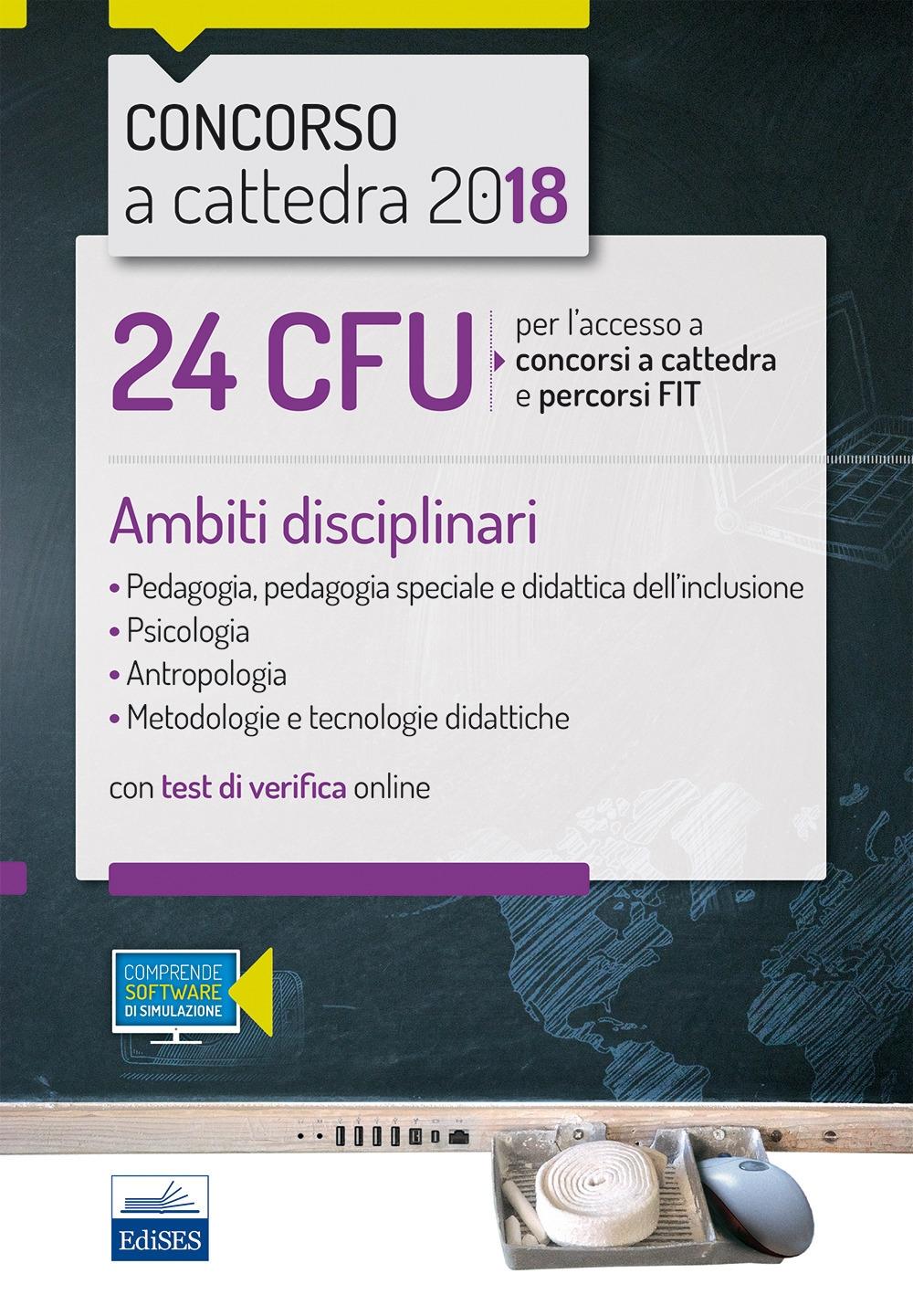 24 CFU concorsi a cattedra e percorsi FIT