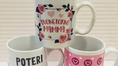 Tazze dedicate Festa della mamma