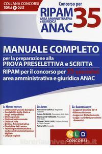 manuale completo prova preselettiva e scritta