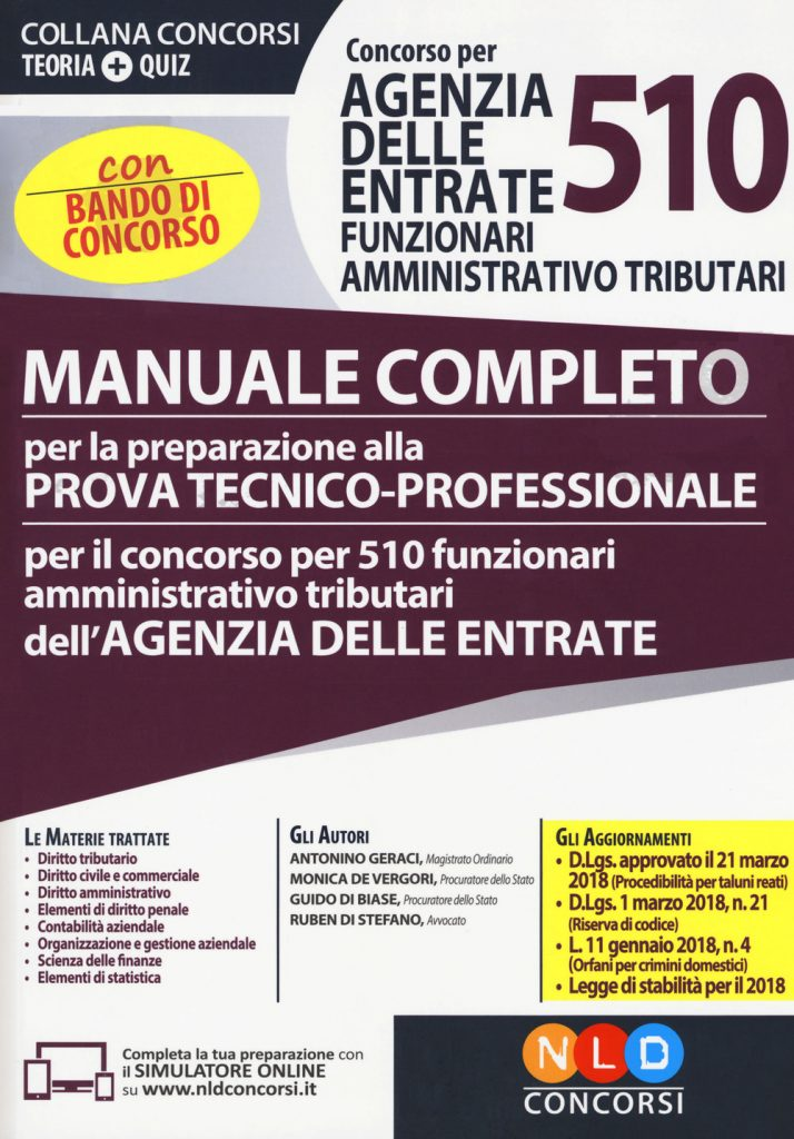 manuale completo prova tecnico -professionale