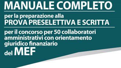 Concorso MEF Codice Concorso 04