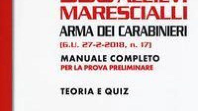536 Allievi Marescialli Arma dei Carabinieri