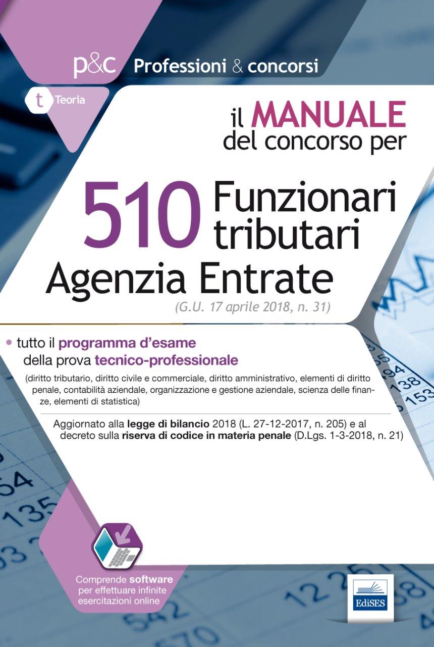 510 Funzionari tributari Agenzia delle Entrate