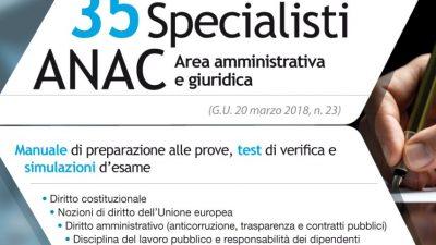 Concorso RIPAM 35 Specialisti ANAC