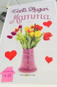 locandina idea regalo festa della mamma