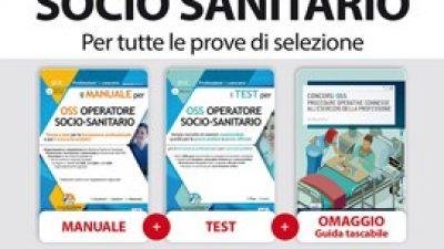 Kit completo Concorso OSS Operatore Socio Sanitario