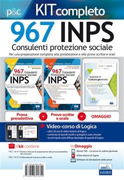 Kit completo 967 Consulenti Protezione Sociale INPS