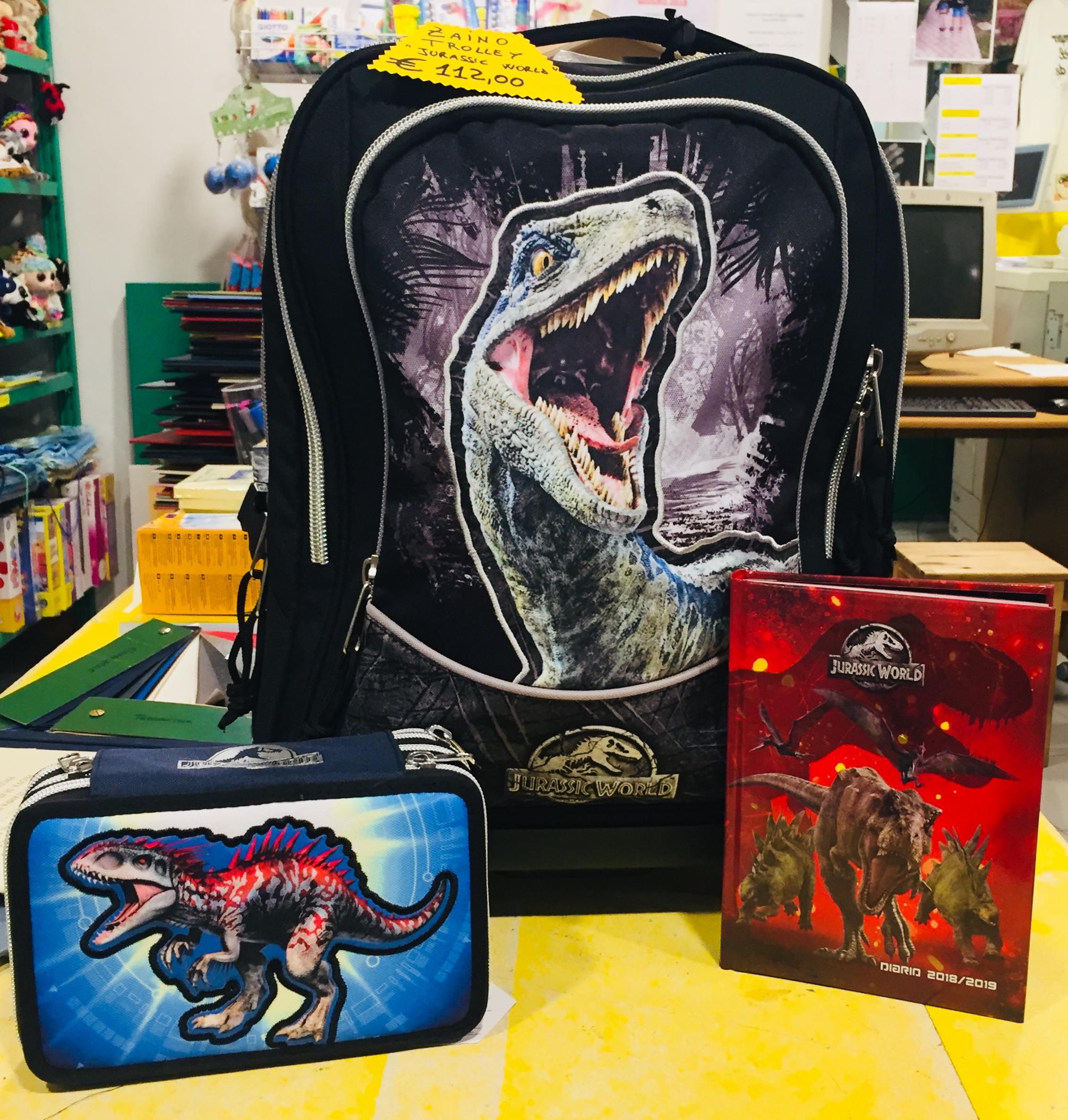 """nuovo prodotto a3b89 4703f Articoli scuola """"Jurassic World"""" – La Matricola"""