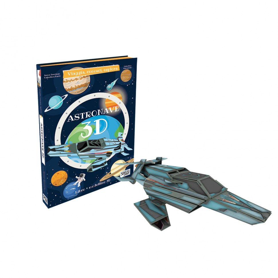 Libro e modellino astronave