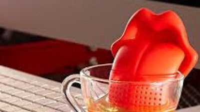 "Infusore tea ""Lingua"" – Tongue tea infuser"
