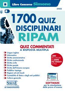 Ed. Simone- Quiz commentati per il concorso RIPAM 2019