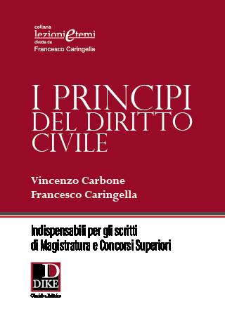 I principi del diritto civile per la preparazione agli scritti di magistratura