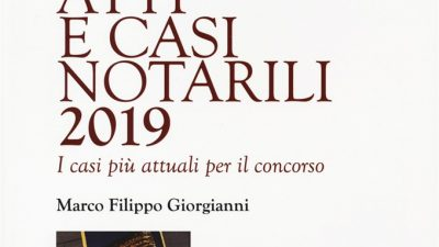 ATTI E CASI NOTARILI 2019