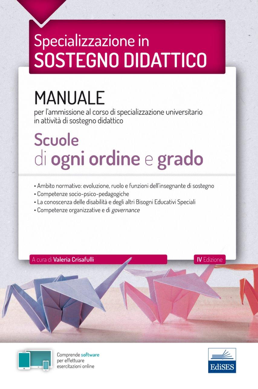 TFA SOSTEGNO- Manuale per le scuole di ogni ordine e grado