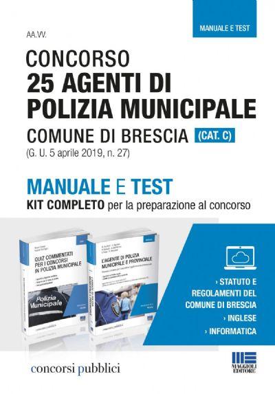 Kit per la preparazione al concorso di polizia municipale