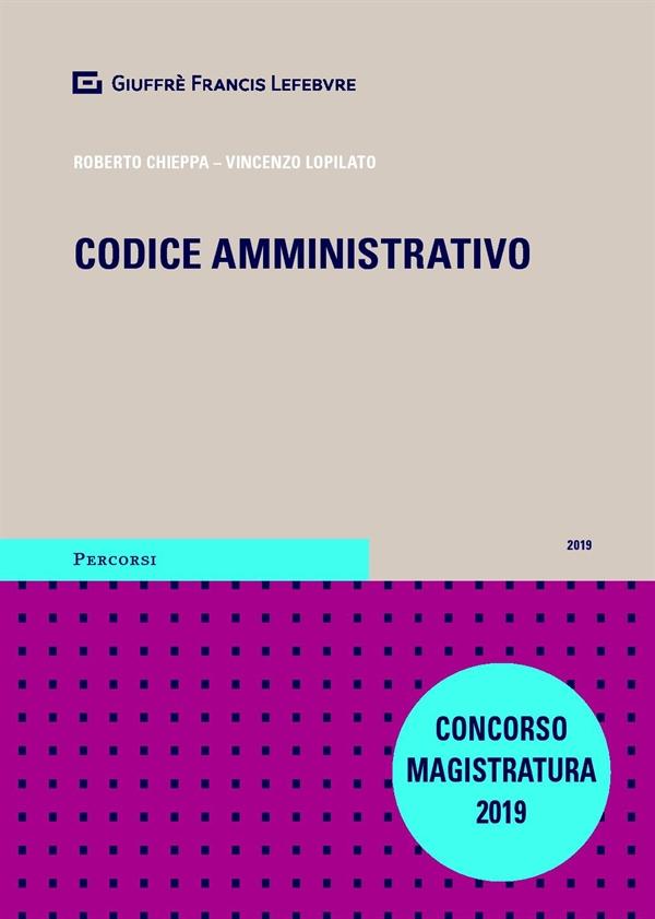Concorso magistrato 2019- codice amministrativo