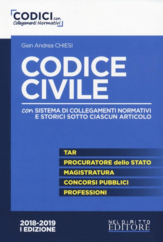 Concorso di Magistratura 2019 - Codice Civile con collegamenti normativi