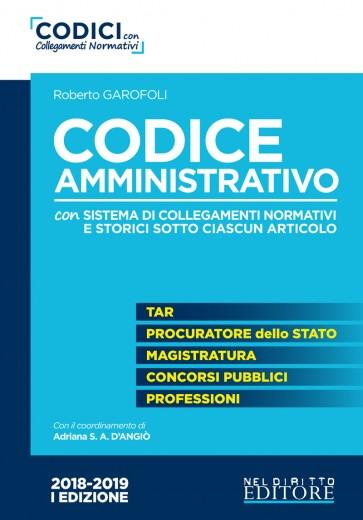 Concorso di magistratura 2019 - Codice Amministrativo