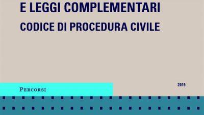 CODICE CIVILE e leggi complementari / CODICE DI PROCEDURA CIVILE
