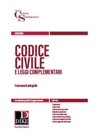 Codice civile con addenda per il concorso di magistratura 2019