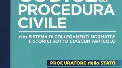 CODICE DI PROCEDURA CIVILE con sistema di collegamenti normativi e storici sotto ciascun articolo