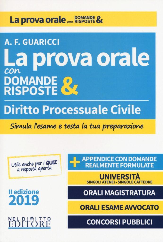 Esame d'avvocato 2019 - Manuale di diritto processuale civile