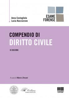 Compendio di diritto civile per esame d'avvocato 2019