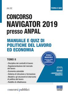 CONCORSO NAVIGATOR 2019 presso ANPAL