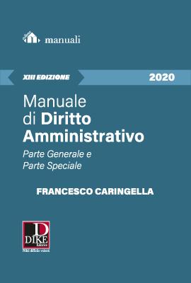 Manuale di Diritto Amministrativo 2020