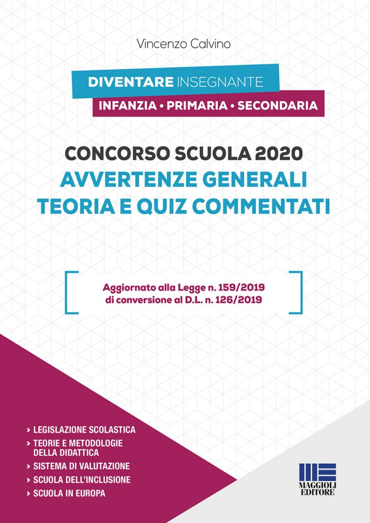 Concorso Scuola 2020