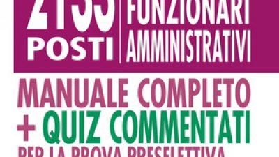 CONCORSO 2133 RIPAM FUNZIONARI AMMINISTRATIVI