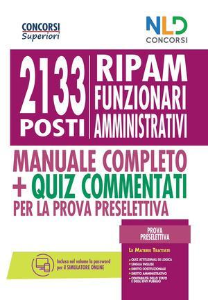 CONCORSO RIPAM 2133 POSTI