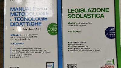 METODOLOGIE E TECNOLOGIE DIDATTICHE + LEGISLAZIONE SCOLASTICA