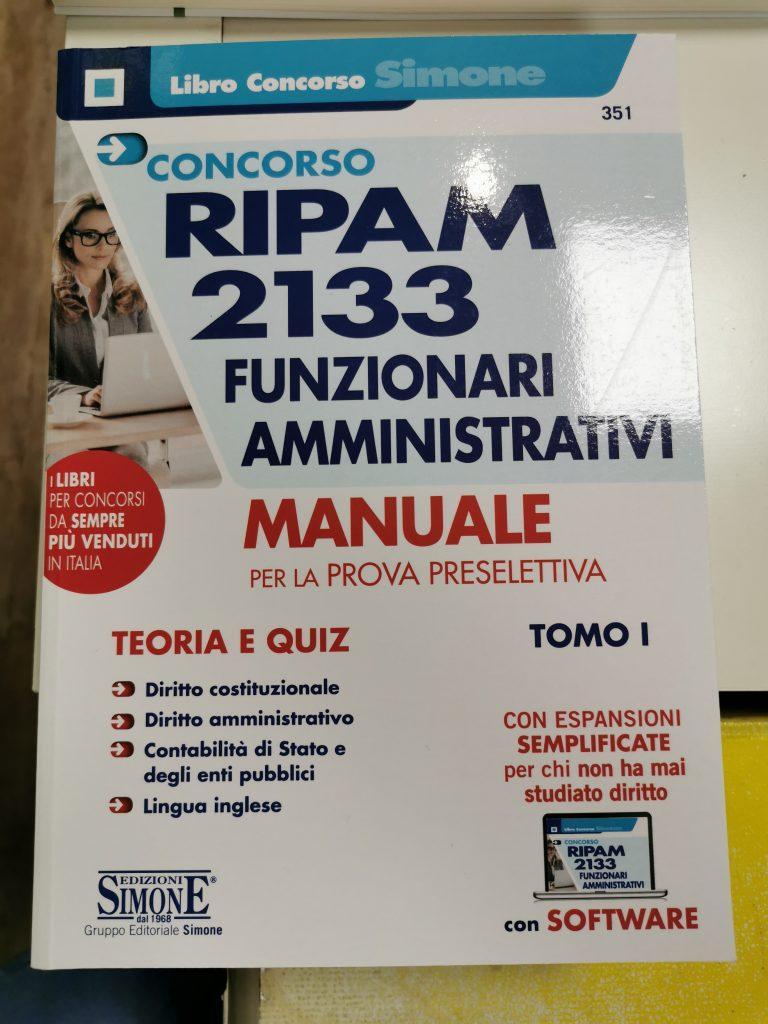 CONCORSO RIPAM 2133