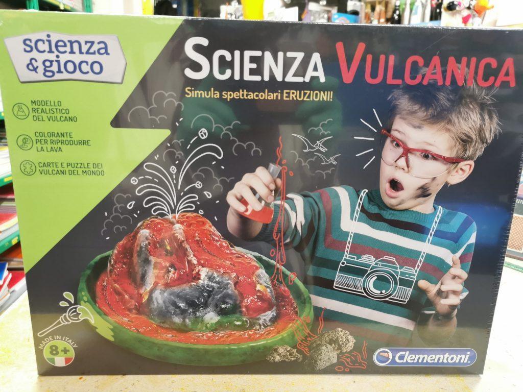 Scienza vulcanica Clementoni