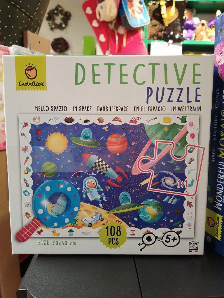 Detective puzzle