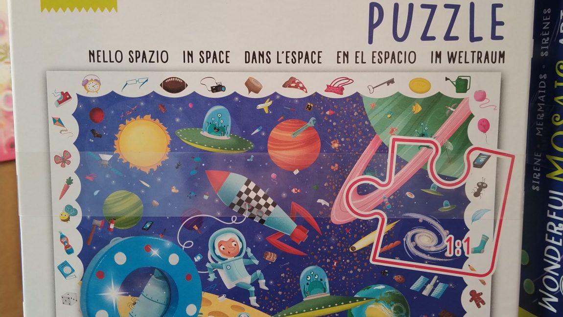 Detective Puzzle – Lo Spazio 🧑🏻🚀🚀🌠🔭👽🪐