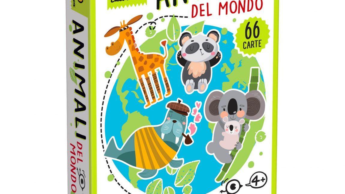 IMPARARE GIOCANDO: GLI ANIMALI DEL MONDO BY LUDATTICA