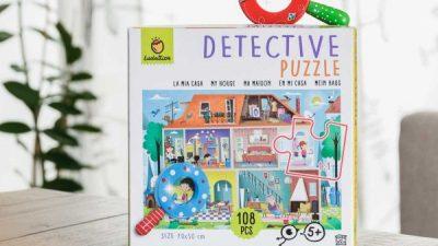 IMPARARE GIOCANDO: DETECTIVE PUZZLE CASA BY LUDATTICA 🧩🏘️