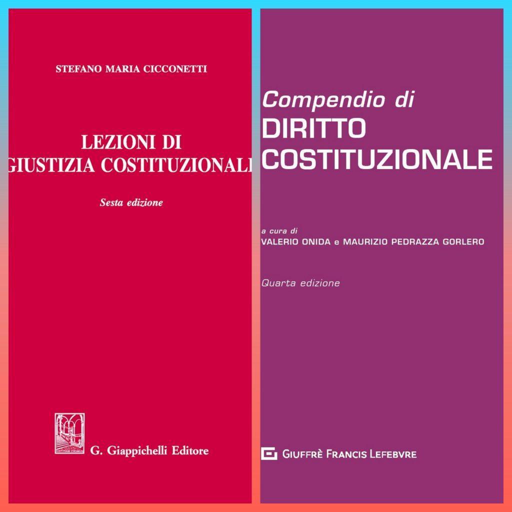 DIRITTO COSTITUZIONALE I