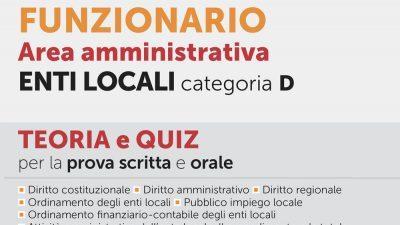 CONCORSO ISTRUTTORE DIRETTIVO E FUNZIONARIO CAT. D – Area Amministrativa