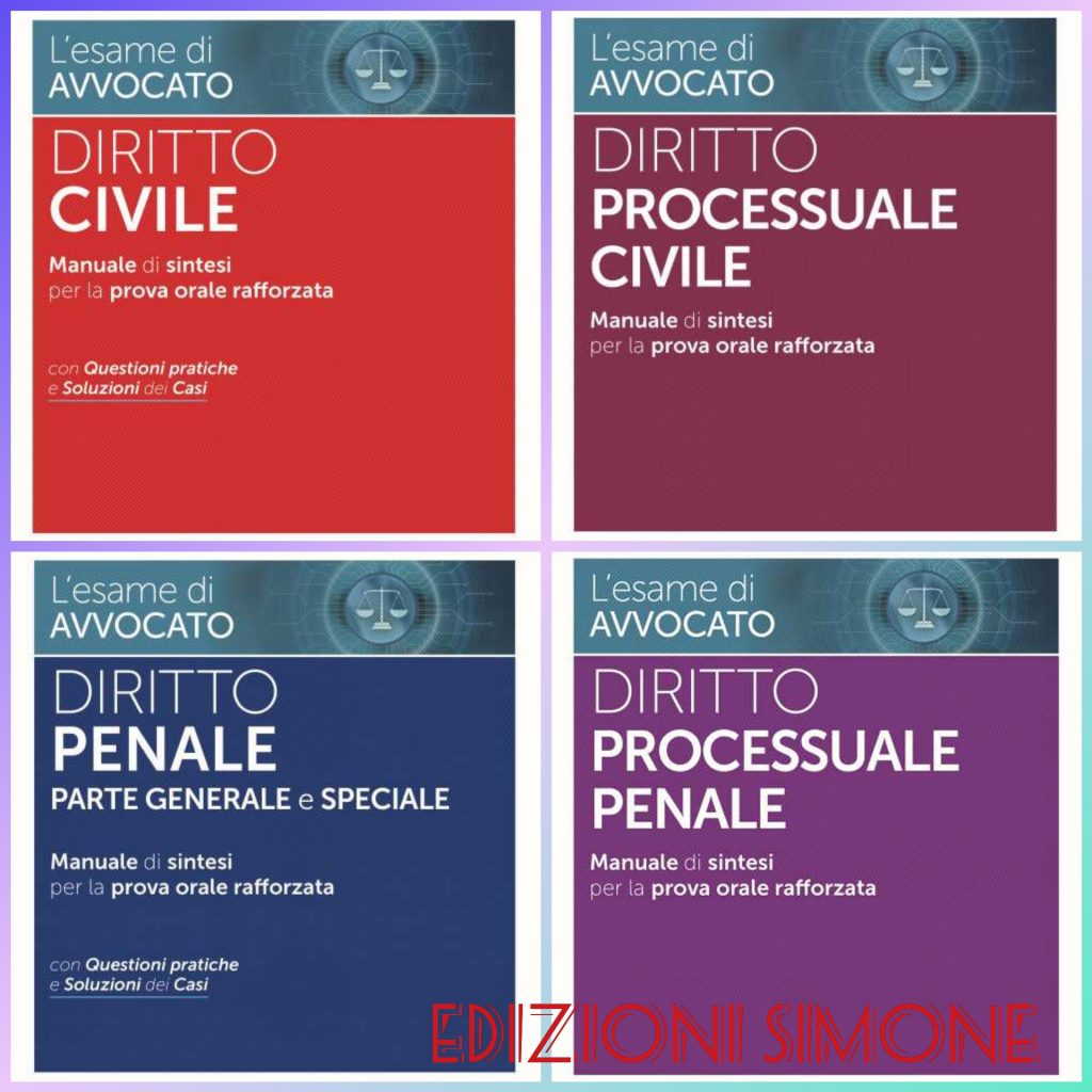 i Quaderni del praticante avvocato Edizioni Simone