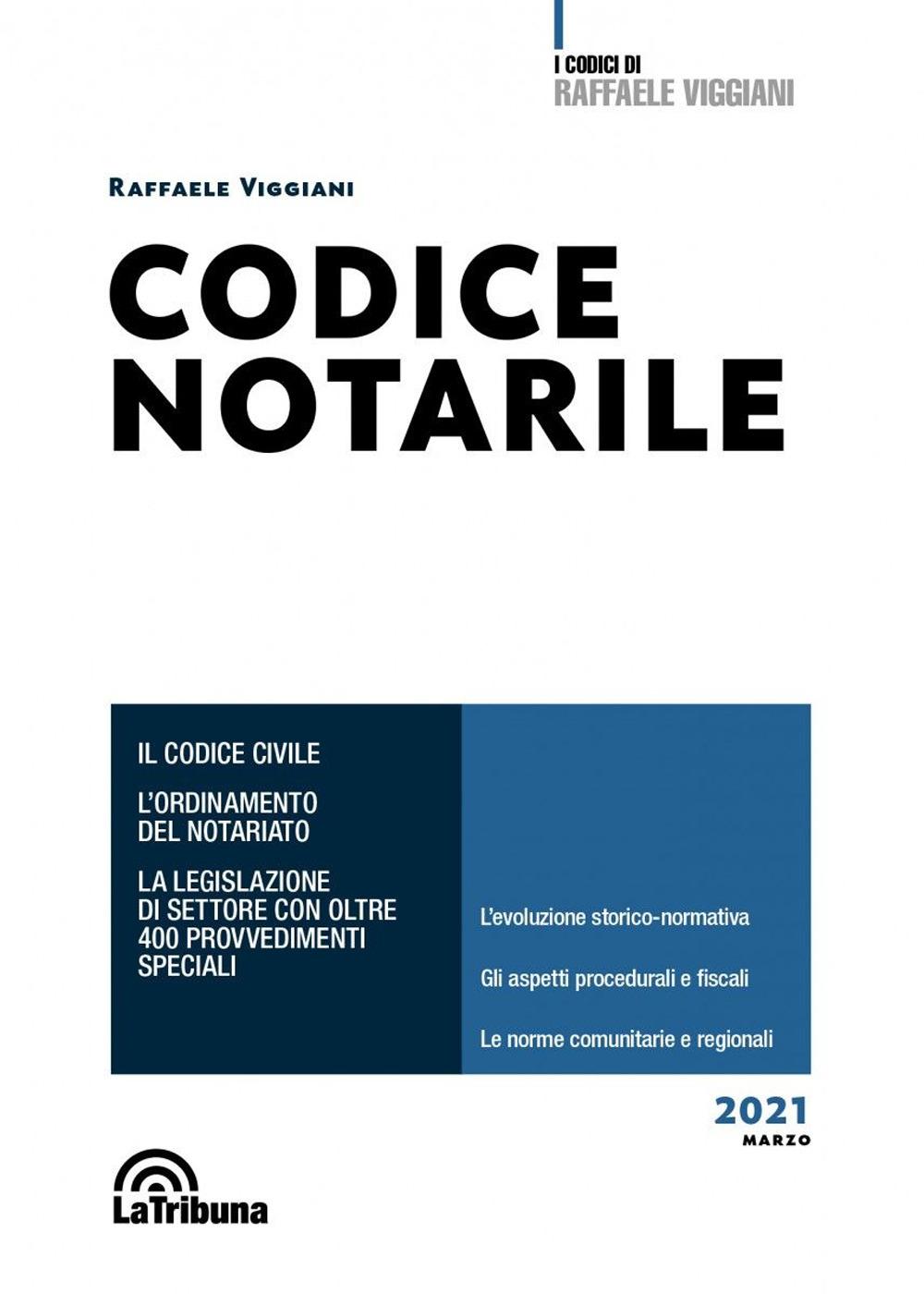 CODICE NOTARILE 2021 – LA TRIBUNA