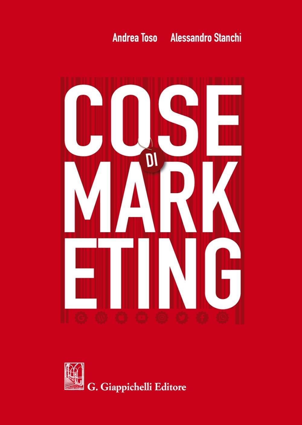 COSE DI MARKETING (novità in libreria)