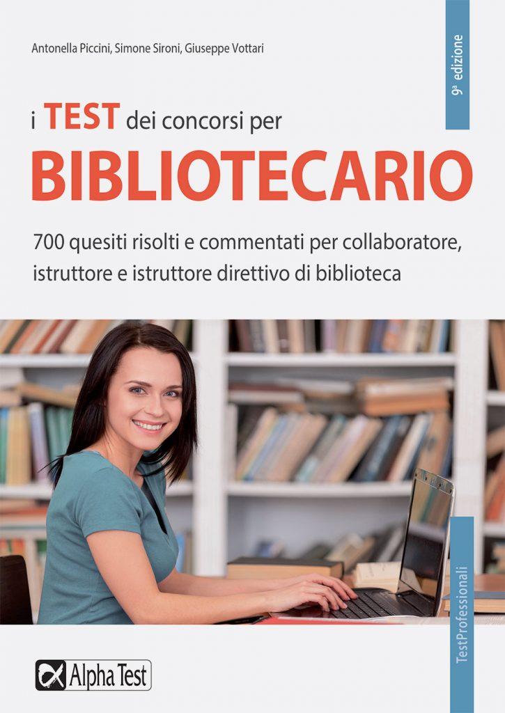 I TEST DEI CONCORSI PER BIBLIOTECARIO ALPHA TEST