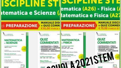 🤯🧑🏫📝🧮📚CONCORSO SCUOLA 2021 – DISCIPLINE STEM Kit Edizioni Simone
