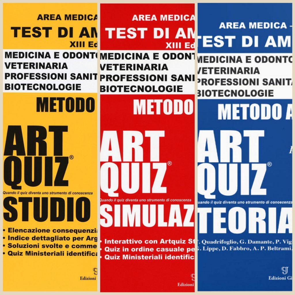 preparazione al test d'ammissione art quiz