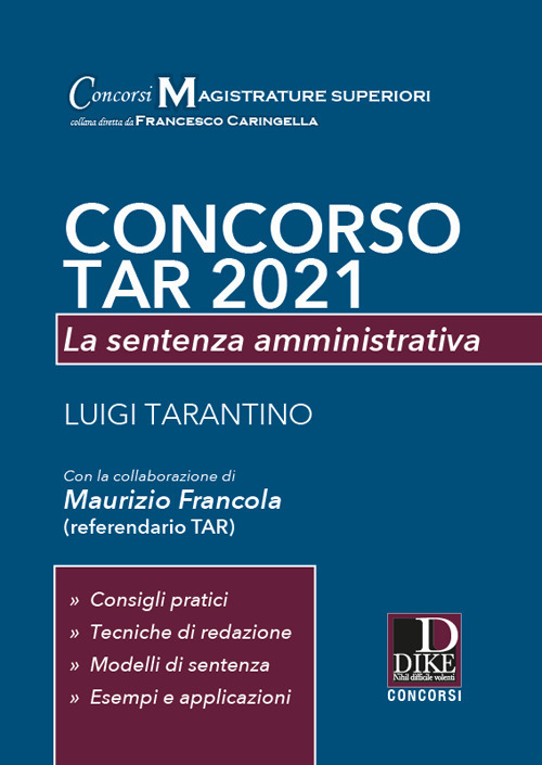 concorso tar 2021