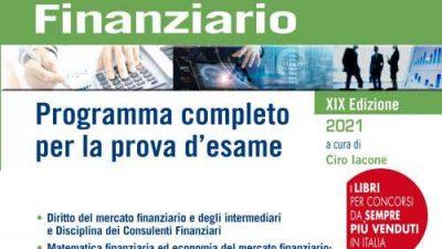 MANUALE DEL CONSULENTE FINANZIARIO Edizioni Simone a cura di C. Iacone